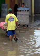 Emergenza pioggia a Trujillo
