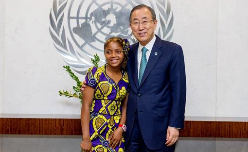 Raquelina, Segretario Generale per un giorno