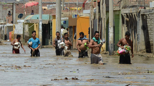 Trujillo travolta dall'alluvione, appello urgente