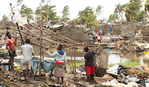Mozambico, tra distruzioni e speranze